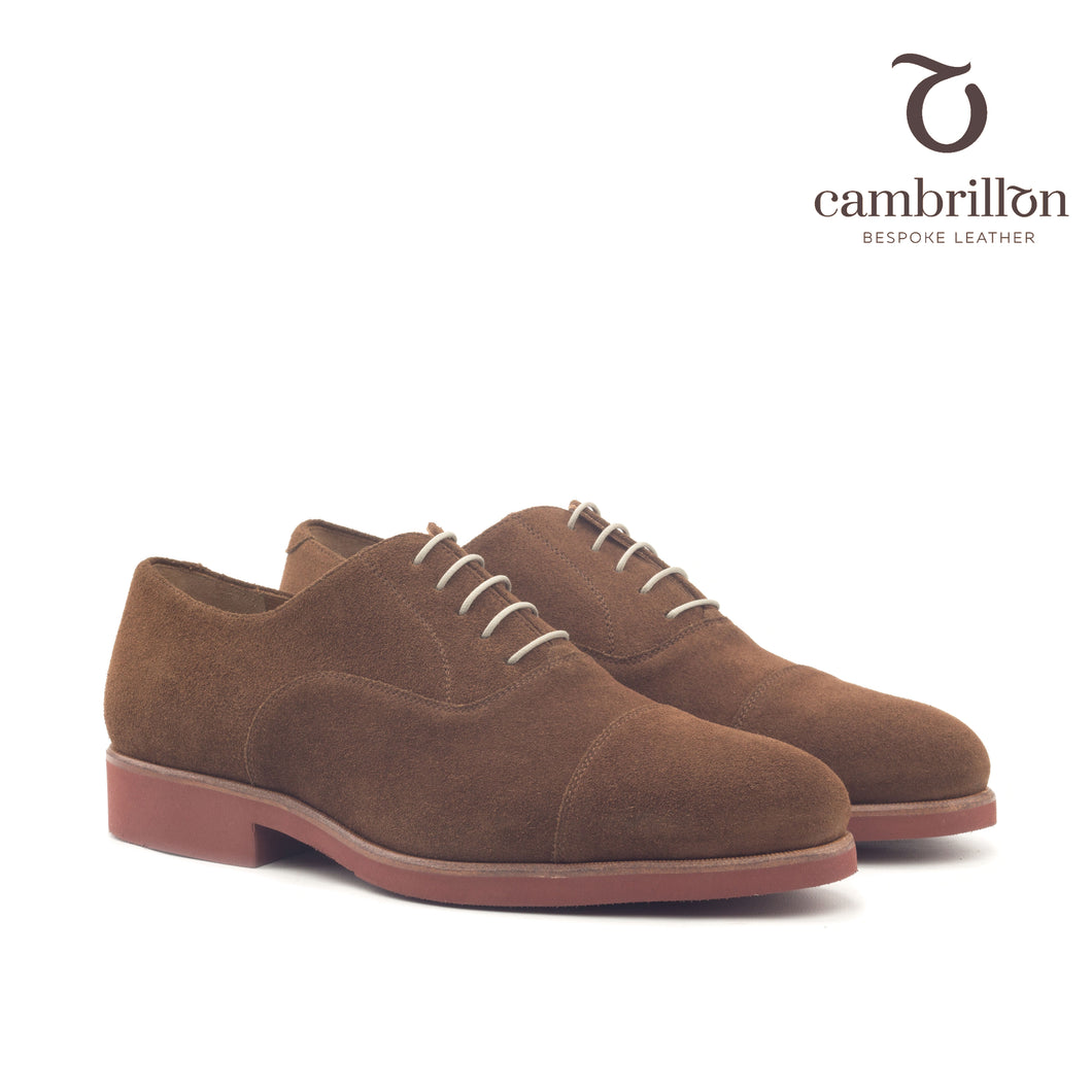 POL Cap Toe Oxford with premium extra light rubber sole