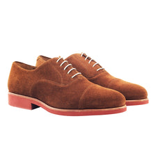 Laden Sie das Bild in den Galerie-Viewer, POL Cap Toe Oxford with premium extra light rubber sole