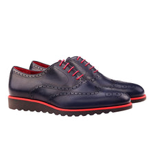 Laden Sie das Bild in den Galerie-Viewer, POL Full brogue Oxford with premium wedge running sole