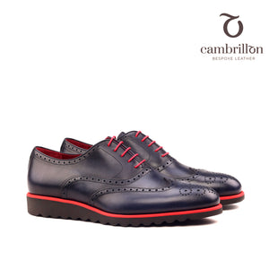 POL Full brogue Oxford with premium wedge running sole