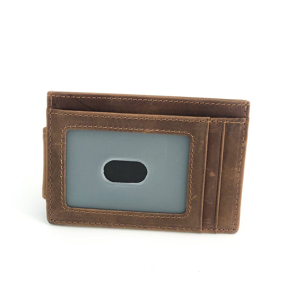 Leather Slimfit Money Clip - Bovine Leather