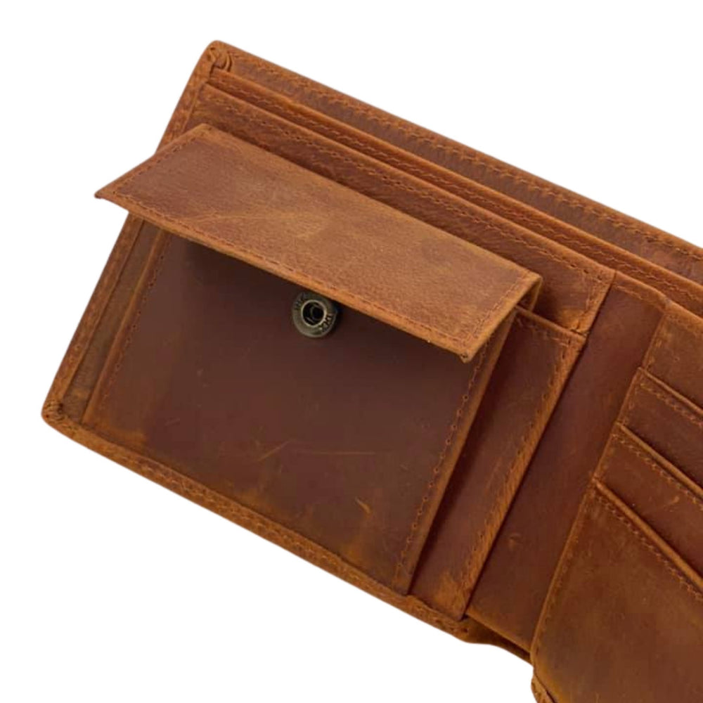 Slimfit Leather Coin Wallet