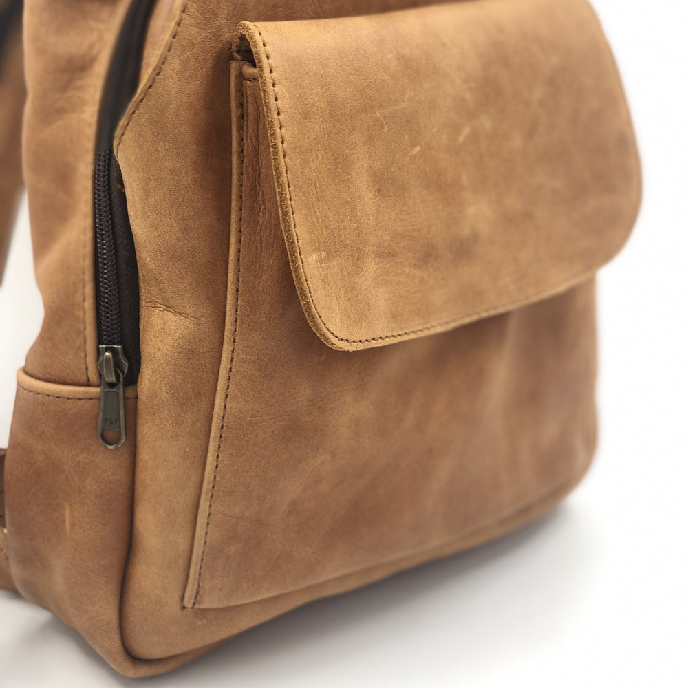 Wanderlust Leather Backpack - Bovine Leather