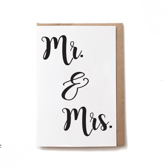 Wedding and Bridesmaid Cards - Bovine Leather