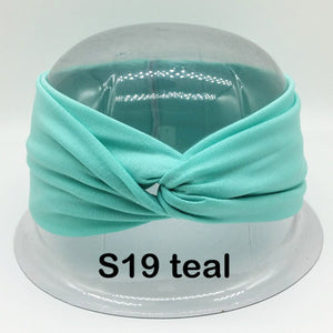Twist Turban Headband for Women Made With 100% Cotton