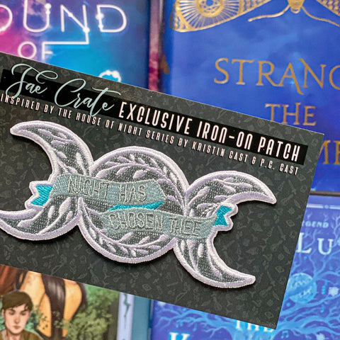 House of Night Iron-On Patch