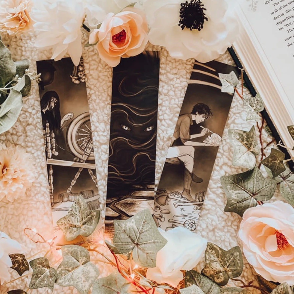 Thorns & All Bookmark Set