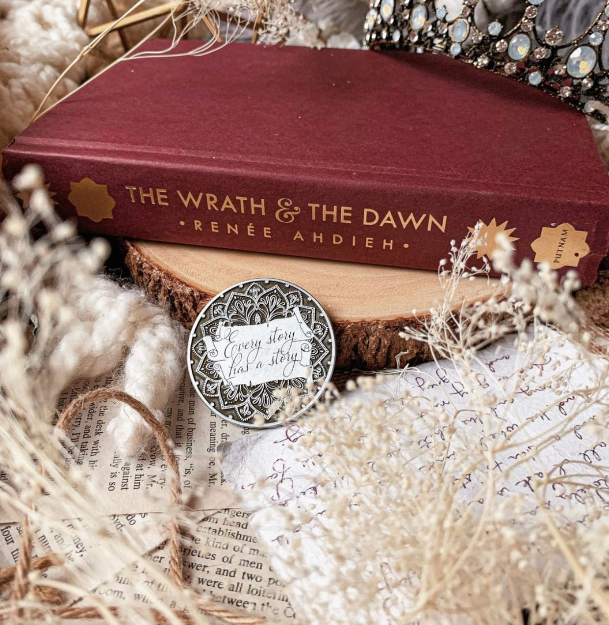 The Wrath & The Dawn Collectors Coin