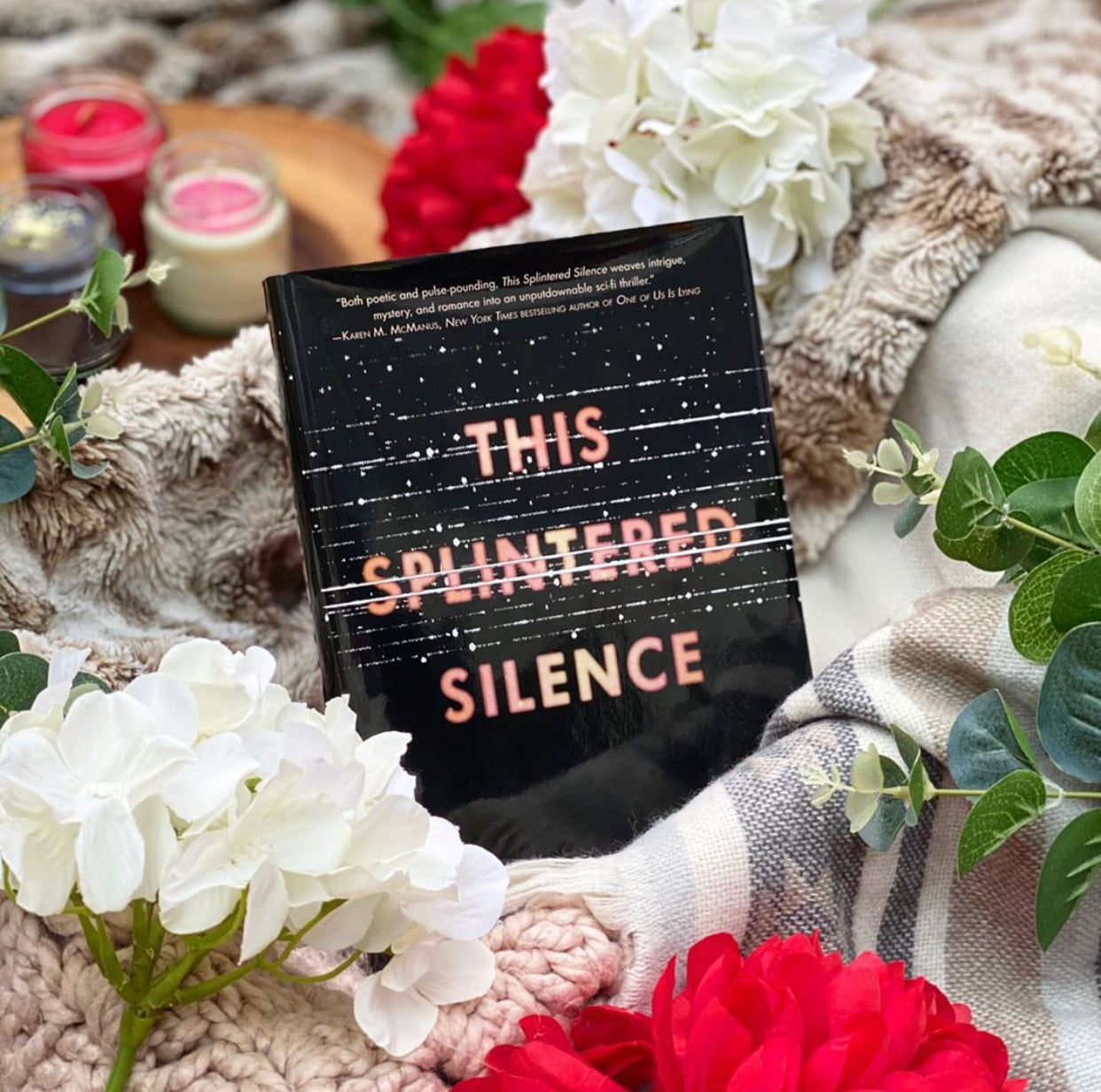 This Splintered Silence by Kayla Olson (Signed Hardcover)
