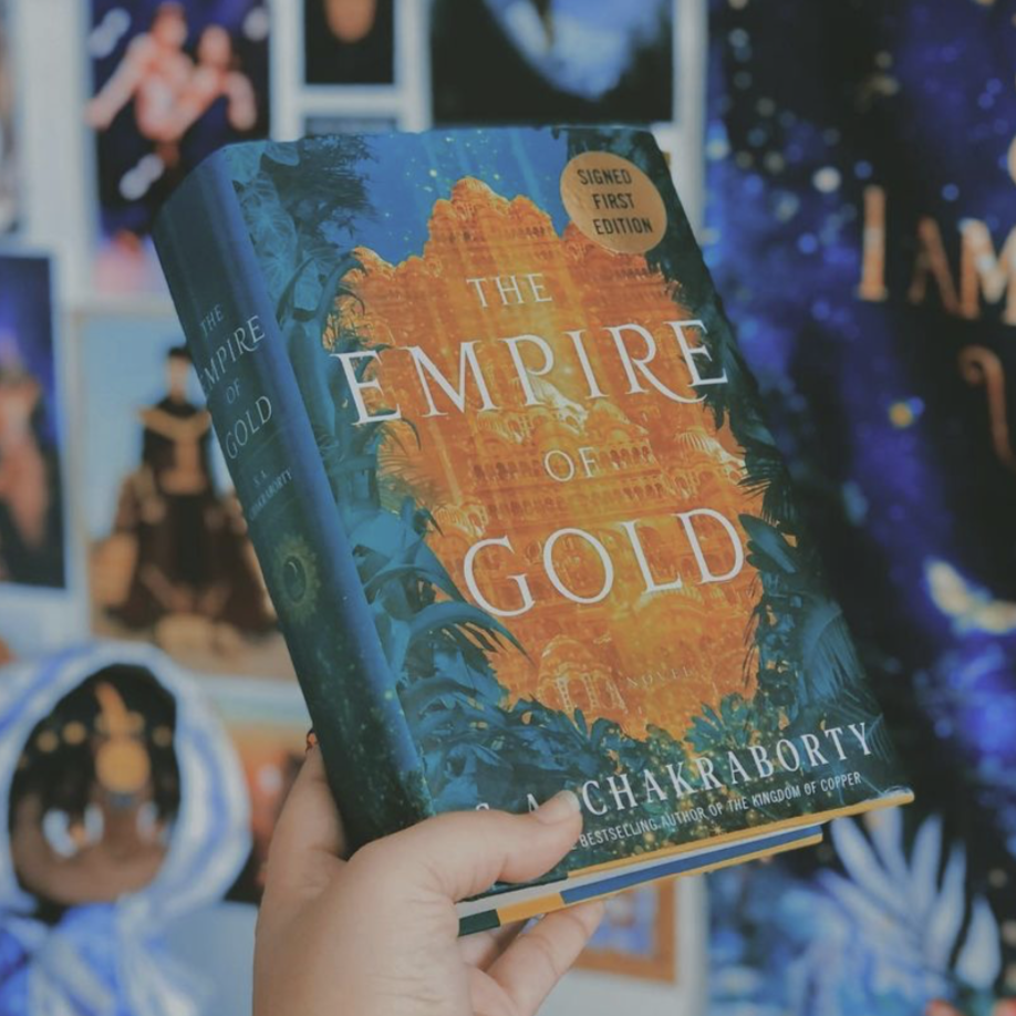 Empire of Gold by S. A. Chakraborty