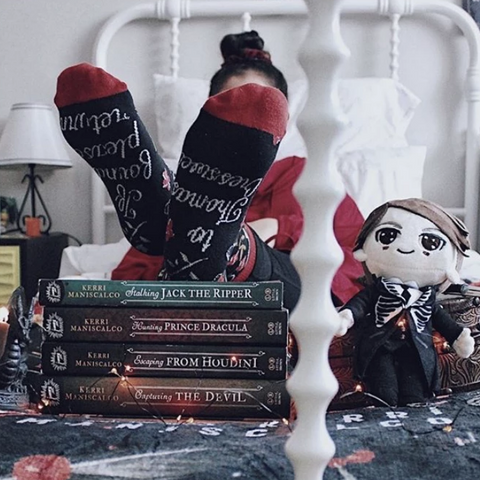 Stalking Jack the Ripper Socks
