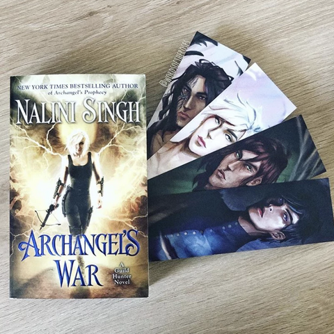 Archangel Character Bookmark Set