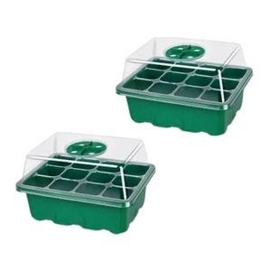 (2 Pack) - Mini Greenhouse Seed Starter