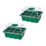 Load image into Gallery viewer, 2 Pack- Mini Greenhouse Seed Starter
