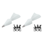Load image into Gallery viewer, (2 Pack) Cake Decor Piping Tips
