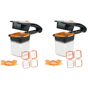 2 Pack- Fruit and Veggie Slicer