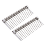 Load image into Gallery viewer, 2 Pack- Roll-Up Dish Drying Rack