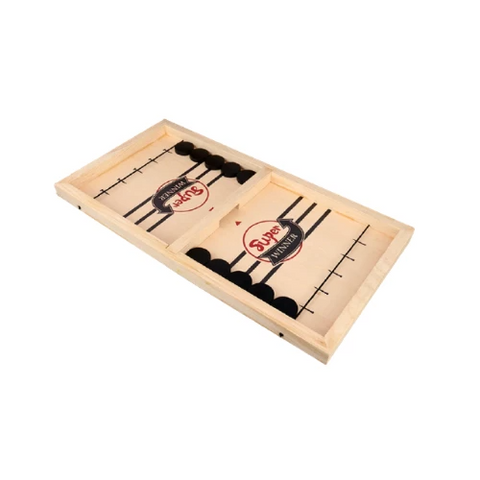 (1 Pack) Wooden Hockey Game