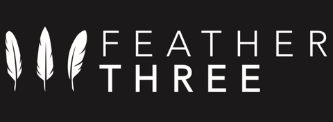 Logo of Feather Three for Our Story Page