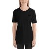 BLACK FRIDAY Black-on-Black Logo Embroidered Shirt