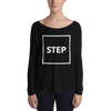 Box Step Form-Fitting Long Sleeve Tee