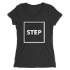 Box Step Form-Fitting T-Shirt