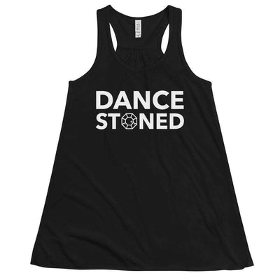 Dance Stoned Form-Fitting Racerback Tank