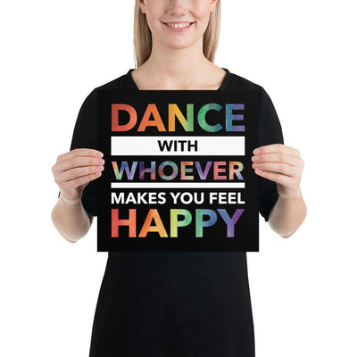 Dance with Happy PRIDE EDITION Poster