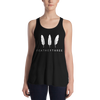 Feather Three Form-Fitting Racerback Tank