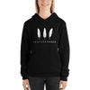 Feather Three Unisex Hoodie
