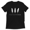Feather Three Unisex T-Shirt
