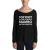 Foxtrot and Mambo Sheets Form-Fitting Long Sleeve Tee
