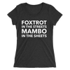 Foxtrot and Mambo Sheets Form-Fitting T-Shirt