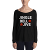 Jingle Bell Jive Form-Fitting Long-Sleeve