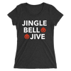 Jingle Bell Jive Form-Fitting T-Shirt