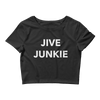 Jive Junkie Form-Fitting Crop-Top
