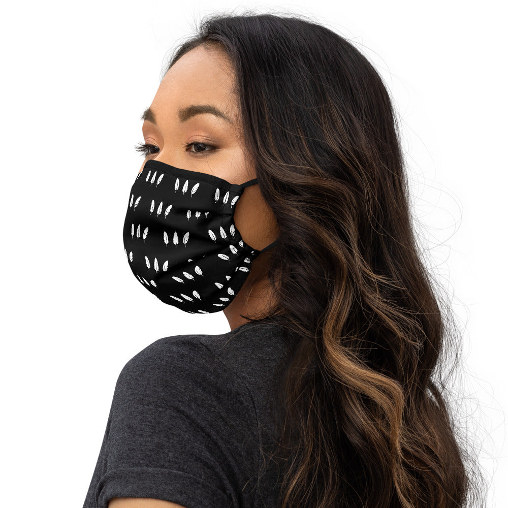 Feather Three Face Mask