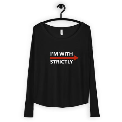 I'm With Strictly RIGHT SIDE Form-Fitting Long Sleeve