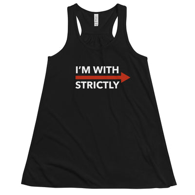 I'm With Strictly Form-Fitting Flowy Racerback Tank Top