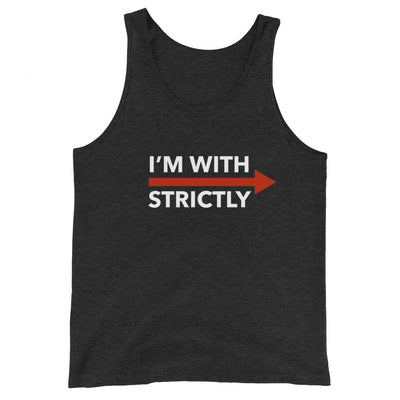 I'm With Strictly RIGHT SIDE Unisex Tank Top