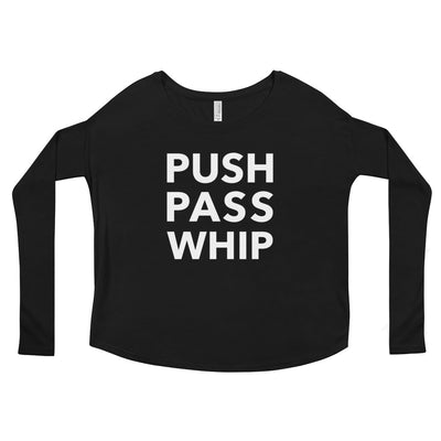 Push Pass Whip Form-Fitting Long Sleeve