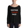 Resting Tango Face Form-Fitting Long Sleeve