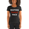 Resting Tango Face Form-Fitting T-Shirt
