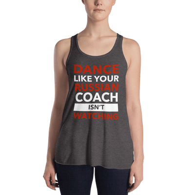Russian Coach Form-Fitting Racerback Tank