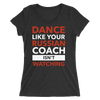Russian Coach Form-Fitting T-Shirt