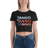Three Tangos Form-Fitting Crop Top