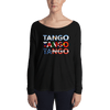 Three Tangos Form-Fitting Long Sleeve Tee