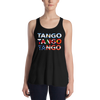 Three Tangos Form-Fitting Racerback Tank