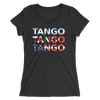 Three Tangos  Form-Fitting T-Shirt