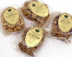 Super Delicious Maple Sugar Coated Nuts, 4 oz. pkg.